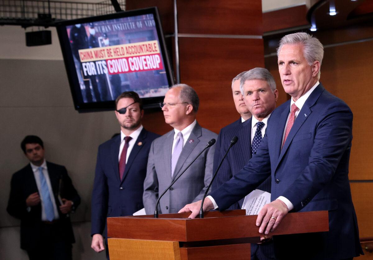 Republicanos de la Cámara lanzan campaña para hacer responsable al PCCh por la pandemia