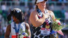 Legisladores del GOP piden destituir a Gwen Berry del equipo olímpico por protesta contra el himno
