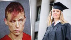 Exdrogadicta da un giro a su vida y se gradúa en la Universidad de Washington