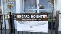 Sin vacunas no hay servicio: boutique de California habilita sistema de verificación de vacunas