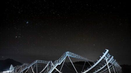Nuevo telescopio detecta cientos de misteriosas señales de radio, cuya fuente aún se desconoce