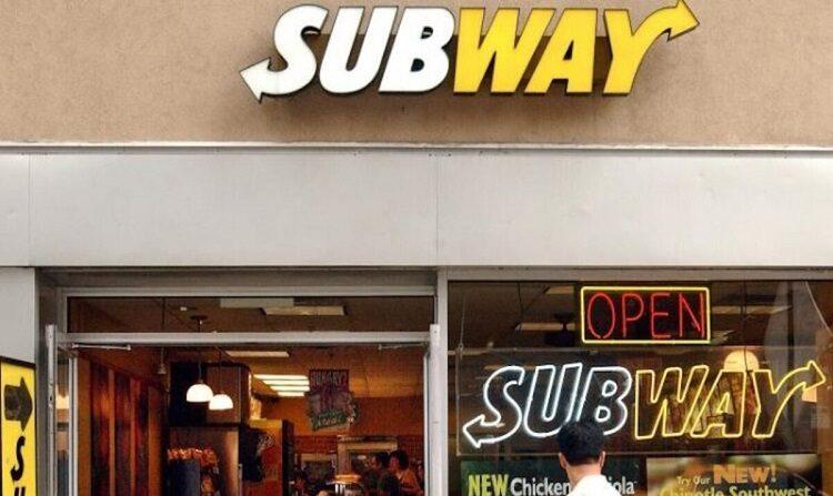 Un restaurante Subway en Nueva York en una foto de archivo de 2003. (Stephen Chernin/Getty Images)