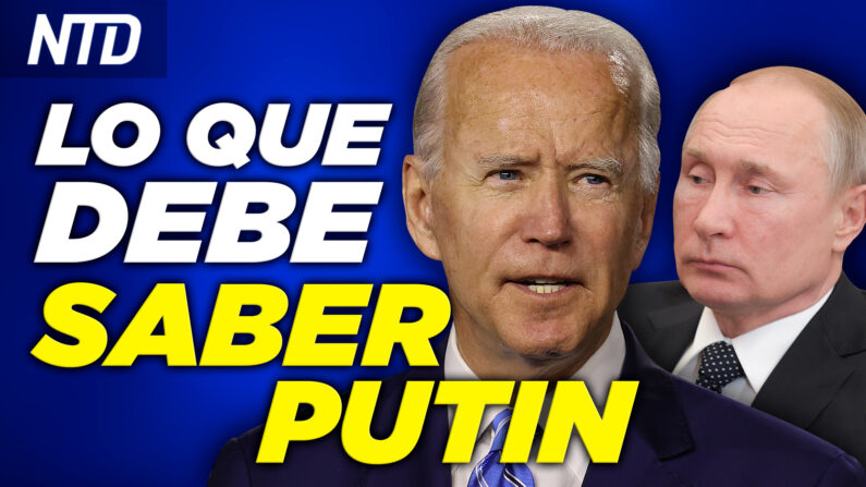 Biden: Le haré saber a Putin lo que debe saber;  DHS: 2,127 niños sin registro de reunificación  NTD noticiero en español