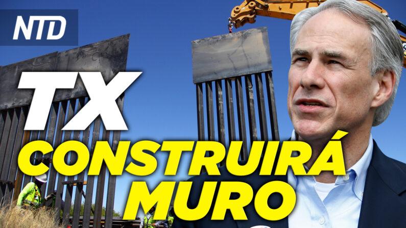 Abbott: Texas construirá muro fronterizo; Más migrantes mueren al cruzar la frontera| NTD noticiero en español