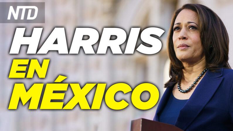Kamala Harris se reúne con AMLO en México; Senador Ted Cruz: facebook podría ir a la Corte  NTD noticiero en español