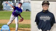Exbateador con autismo asciende a lanzador en el equipo de béisbol de la escuela