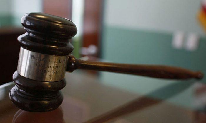 Una foto de archivo del mazo de un juez (Joe Raedle/Getty Images)