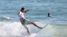 Surfistas argentinos con síndrome de Down son grandes estrellas en competencia latinoamericana