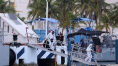 Tres muertos en el hundimiento de embarcación turística en el Caribe mexicano
