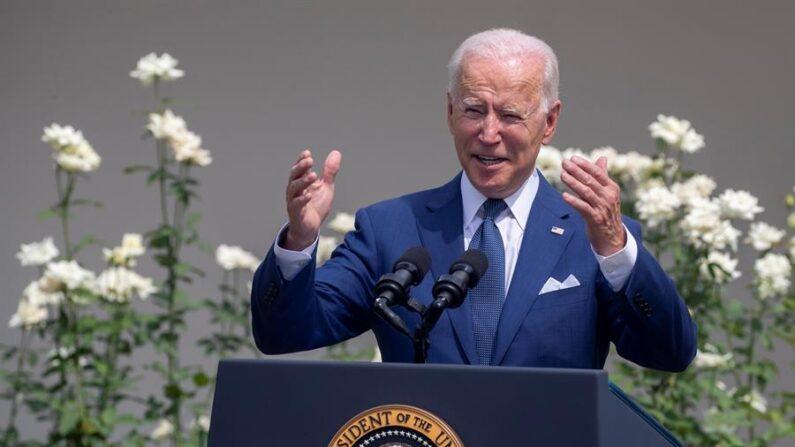 Joe Biden, presidente de Estados Unidos. EFE/Shawn Thew
