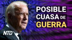 NTD Noticias: Biden: Un ciberataque podría causar una guerra real; DOJ: Vacunación obligatoria es legal