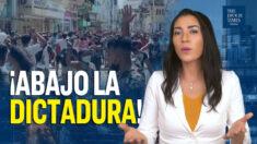 """Al Descubierto: """"¡Abajo la dictadura!"""" gritan los cubanos pidiendo libertad ¿Qué dice el mundo?"""