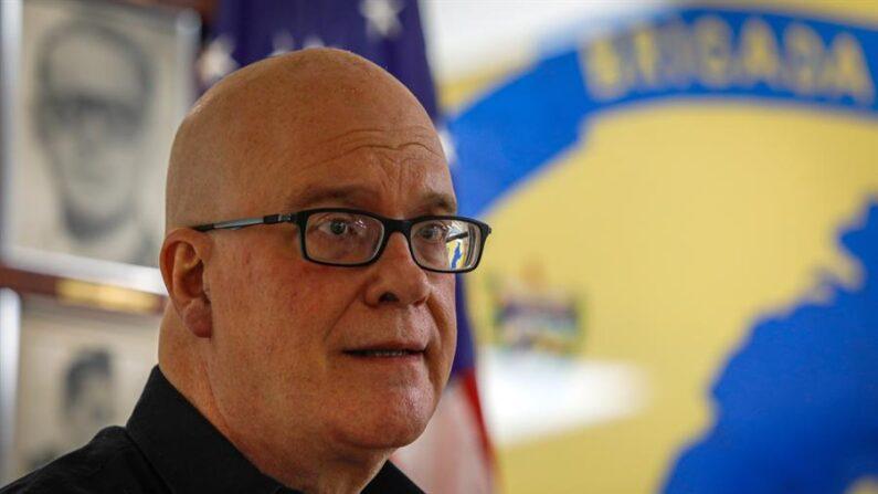 El dirigente del Directorio Democrático de Cuba, Orlando Gutiérrez. EFE/Giorgio Viera/Archivo