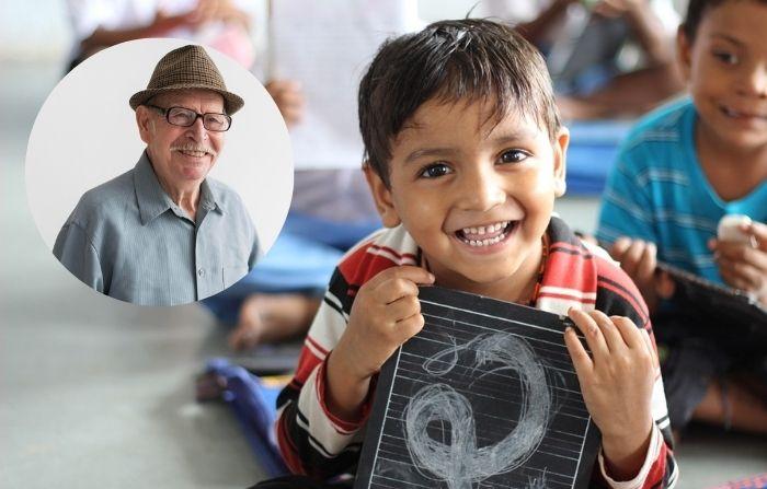 """Recolector de basura brasileño construye escuela para niños: """"¡Todo lo paga con su dinero!"""""""