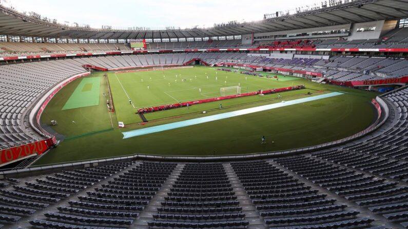 Guinea-Conakri confirmó este miércoles 21 de julio de 2021 su renuncia a participar en los Juegos Olímpicos de Tokio 2020 por la pandemia de covid-19. EFE/EPA/YONHAP