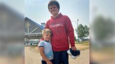 Niño con autismo de 11 años ve a un niño ahogándose y se lanza para salvarle la vida
