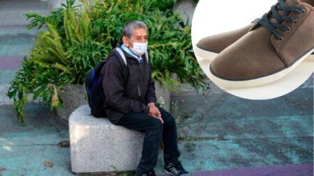 """Joven mexicana compra zapatos a abuelito que preguntó si vendían calzado usado: """"Lo hice de corazón"""""""