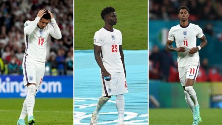 Policía investigará agresiones raciales a jugadores de Inglaterra tras la derrota en la Eurocopa 2020