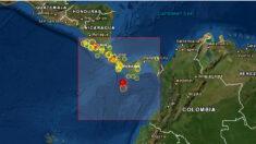Un sismo de magnitud 6.4 con epicentro en el mar sacude zonas de Panamá