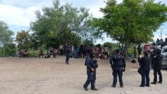 Agentes mexicanos rescatan a 110 migrantes, entre ellos 56 menores
