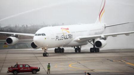 Un juzgado español suspende el rescate financiero de la aerolínea Plus Ultra
