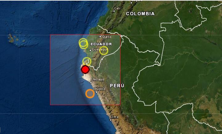 Un fuerte sismo de magnitud 6.1 sacude el norte de Perú sin causar daños