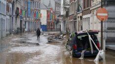 Las inundaciones dejan seis muertos en Bélgica