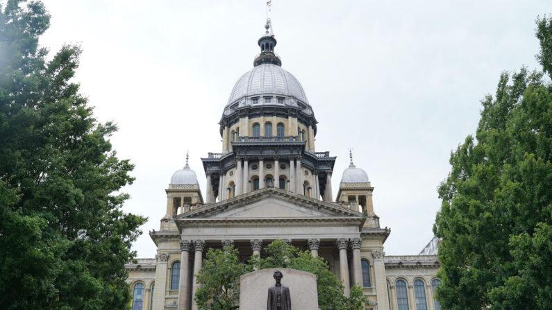 El Capitolio del Estado de Illinois el 26 de junio de 2021. (Cara Ding/The Epoch Times)