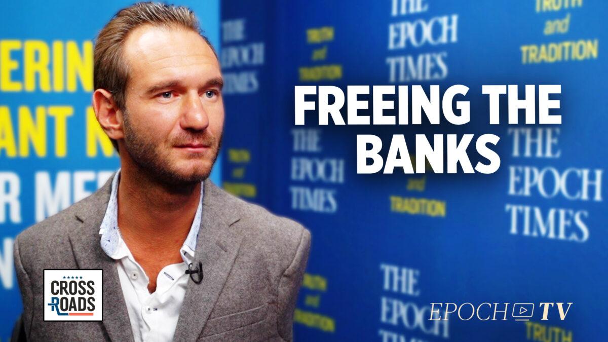 Nick Vujicic crea banco en respuesta a surgimiento de cultura de la cancelación en el sector privado