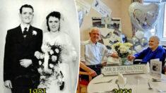Pareja casada durante 7 décadas revela su secreto para una relación feliz y duradera