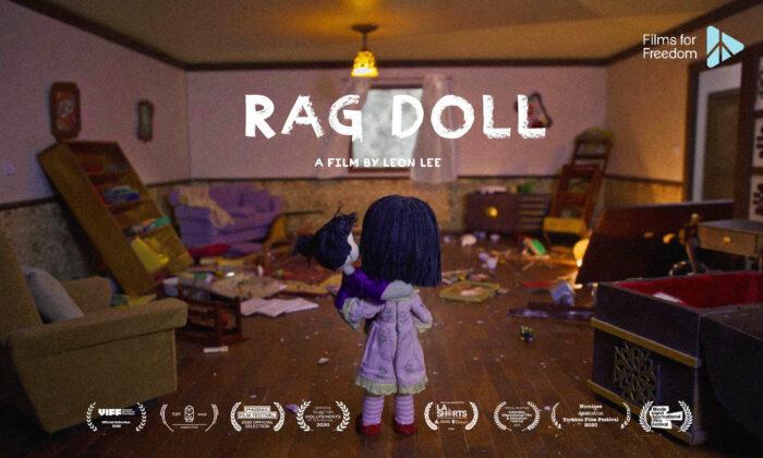 """Yingying encuentra su casa saqueada después de que su madre fuera secuestrada por la policía china, en el cortometraje """"Rag Doll"""". (Flying Cloud Productions)"""