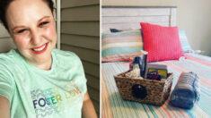 """""""Paquetes de bienvenida"""" de una madre soltera de adopción temporal están ayudando a las adolescentes"""