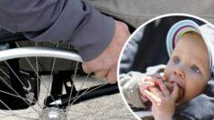 Alumnos adaptan carriola a silla de ruedas y cambian la vida de un papá con discapacidad para siempre