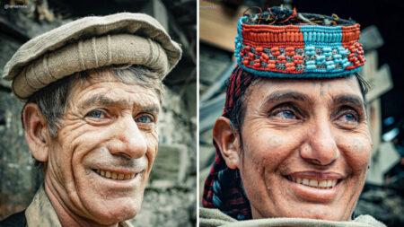 "Fotógrafo visita increíble tribu remota africana ""Aria"" en Pakistán, que sintió como ir al ""2000 a.C."""