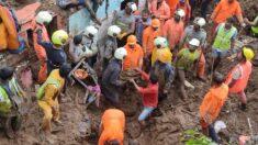 Al menos 43 muertos por las fuertes lluvias en el oeste de la India