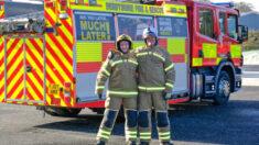 Padre y su hija de 20 años estarán en el mismo equipo de servicio de Bomberos de Derbyshire
