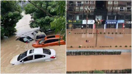Clima extremo golpea varias ciudades chinas cancelando vuelos y cerrando escuelas en Beijing