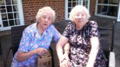 Gemelas de 101 años se reúnen cada semana a pesar de vivir a 80 millas de distancia