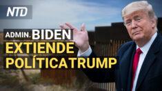 Biden extiende política migratoria de Trump; Inician desalojos y Casa Blanca no puede evitar | NTD