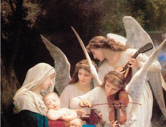 """Alinearse con la voluntad del Cielo: """"La Virgen con Ángeles"""" de William Bouguereau"""