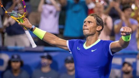 Rafael Nadal se retira del torneo de Toronto la víspera de su debut