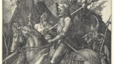 """El héroe moral en el grabado """"El caballero, la muerte y el diablo"""""""