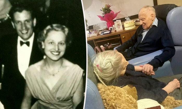 Pareja casada durante 76 años, que nacieron con un día de diferencia, celebra su centenario juntos