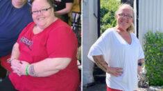 Madre con sobrepeso que nunca comió una verdura en su vida pierde 115lb en 1 año