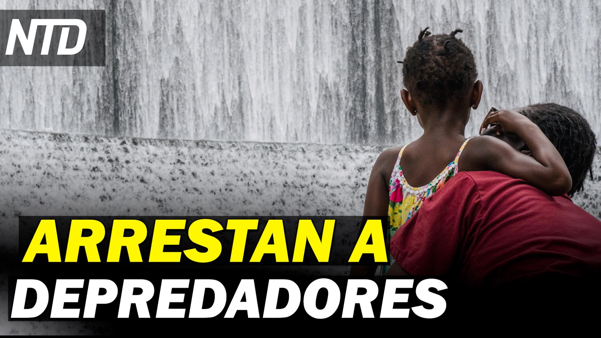 NTD Noticias: Arrestan empleados de Disney buscando depredadores de niños; Gobernador indulta a los McCloskey