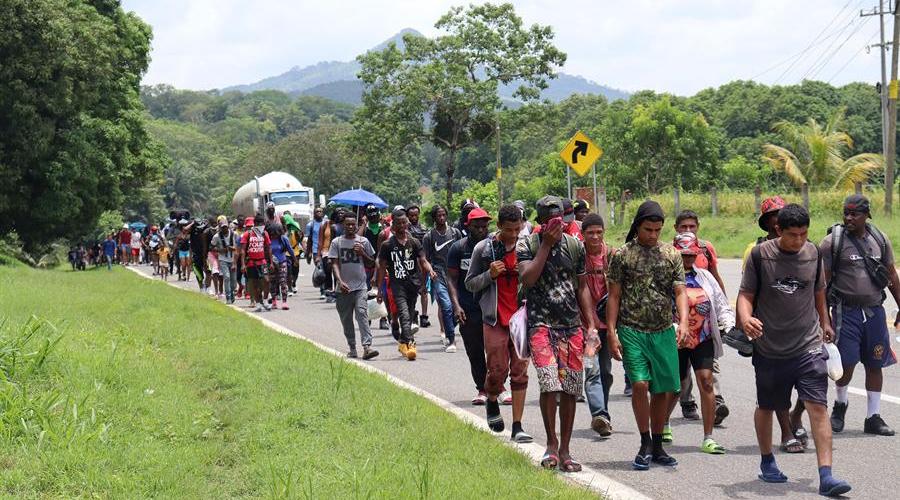 Muere atropellada menor ilegal mientras viajaba en el sur de México