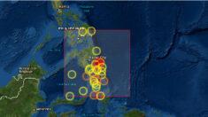 Emiten alerta de tsunami tras sismo de magnitud 7.1 frente a Filipinas