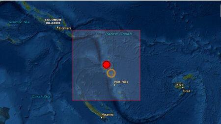 Terremoto de magnitud 6.8 sacude Vanuatu y activa alerta de tsunami