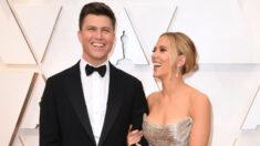 Scarlett Johansson y Colin Jost anuncian el nacimiento de su primer hijo