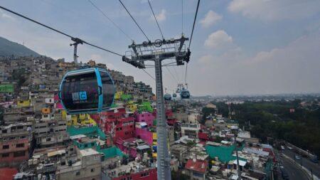 Ciudad de México recibe el Guinness por teleférico urbano más largo del mundo
